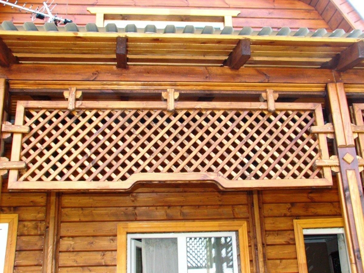 Деревянная решетка своими руками: мастер-класс с пошаговыми фотографиями 368